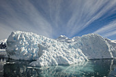 Iceberg in Neko Harbor, Antarctic Peninsula