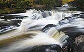 Bond Falls, in Michigan's Upper Peninsula