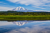 Mt. Adams from Trout Lake Area, USA