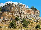 Sandstone Formation, Castle Gardens, USA