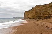 Sandstone Cliffs at West Bay