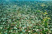 Aerial Of Brazzaville, Congo