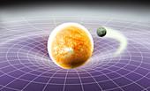 Gravity as a Constant, conceptual illustration