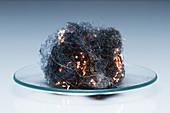 Steel wool burning, 3 of 3