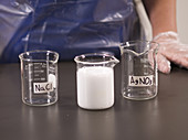 Mixing Sodium Chloride and Silver Nitrate