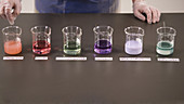 Chemistry Mixing Experiment