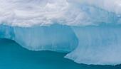 Detail of iceberg