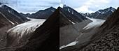 McCall glacier, 1958 and 2003