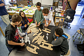 Middle School STEM Class
