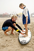 Surfing Lessons on Dry Land