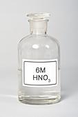 Bottle of Nitric Acid