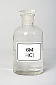 Bottle of Hydrochloric Acid