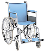 Wheelchair, illustration