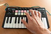 MIDI musical keyboard