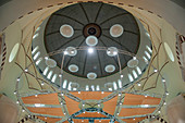 Acoustic panels in church dome