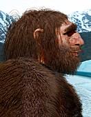 Neanderthal, illustration