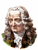 Voltaire, French author and poet
