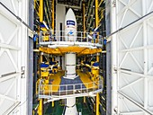 ADM-Aeolus satellite launch preparations