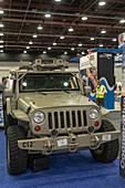 Self-driving military vehicle, USA