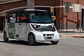 Self-driving van, Detroit, USA
