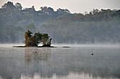 Early morning at Chiang Saen lake