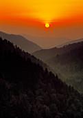 Sunset from Morton Overlook