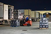 Overnight wholesale produce market, USA