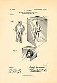 Corpse preservation patent, 1903