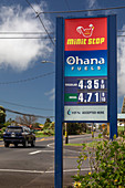 High fuel prices in Hawaii