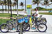 Public bike scheme, Florida, USA