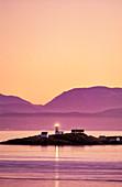 Merry Island Lighthouse, British Columbia, Canada