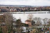Flooding, Tonbridge, Kent, UK