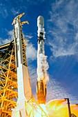 Es'hail 2 satellite launch, 2018