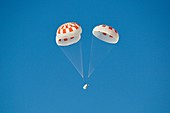 Parachute test for Crew Dragon spacecraft, 2018