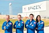 Commercial Crew Program astronauts, 2018