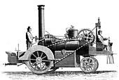Lotz steam engine, 19th century
