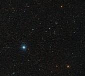 Barnard's Star and surrounds, optical image