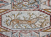 Mosaic floor of a monastery from Bet Guvrin, Israel