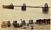 Royal Suspension Chain Pier in Brighton, 1860s