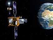 MTG-S and MTG-I satellites, illustration