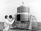 ESRO-1A satellite preparations, 1960s