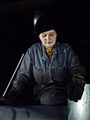 WWII, Woman Welder, 1943