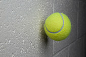 Tennis Ball After a Collision with a Wall