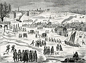 Thames Frost Fair, Little Ice Age, 1684