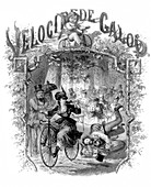 Velocipede Road Rage, 1869
