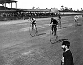 High Wheeler Bicycle Race, 1890s