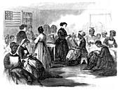 Freedmen's Union Industrial School, 1866