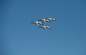A-10 Thunderbolt II Warthogs in formation