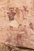 Sego Canyon Pictographs Detail