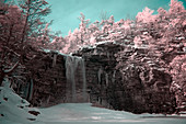 Cotton Candy Waterfall, Infrared